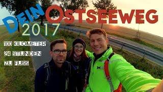 Ostseeweg 2017 100km in 24 h Stunden zu Fuß