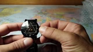 Распаковка посылки с Gear Geometric Steel Band Quartz Watch. GearBest