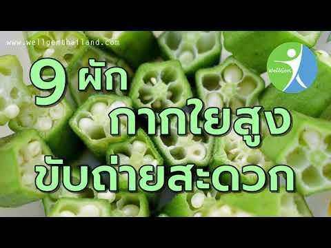 9ผักกากใยสูงขับถ่ายสะดวก WELLGENTHAILAND.COM
