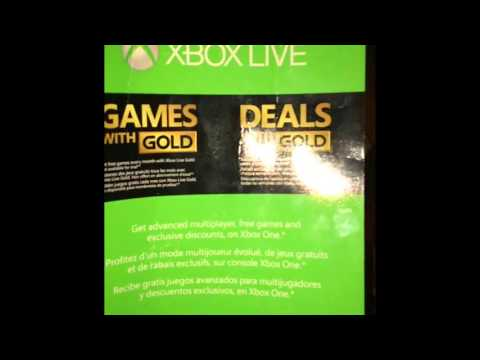 Xbox Live Gold Giveaway!!