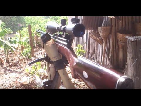 Review Steven Air gun เบอร์ 2/ 5.5 ระยะ 45 ก้าว