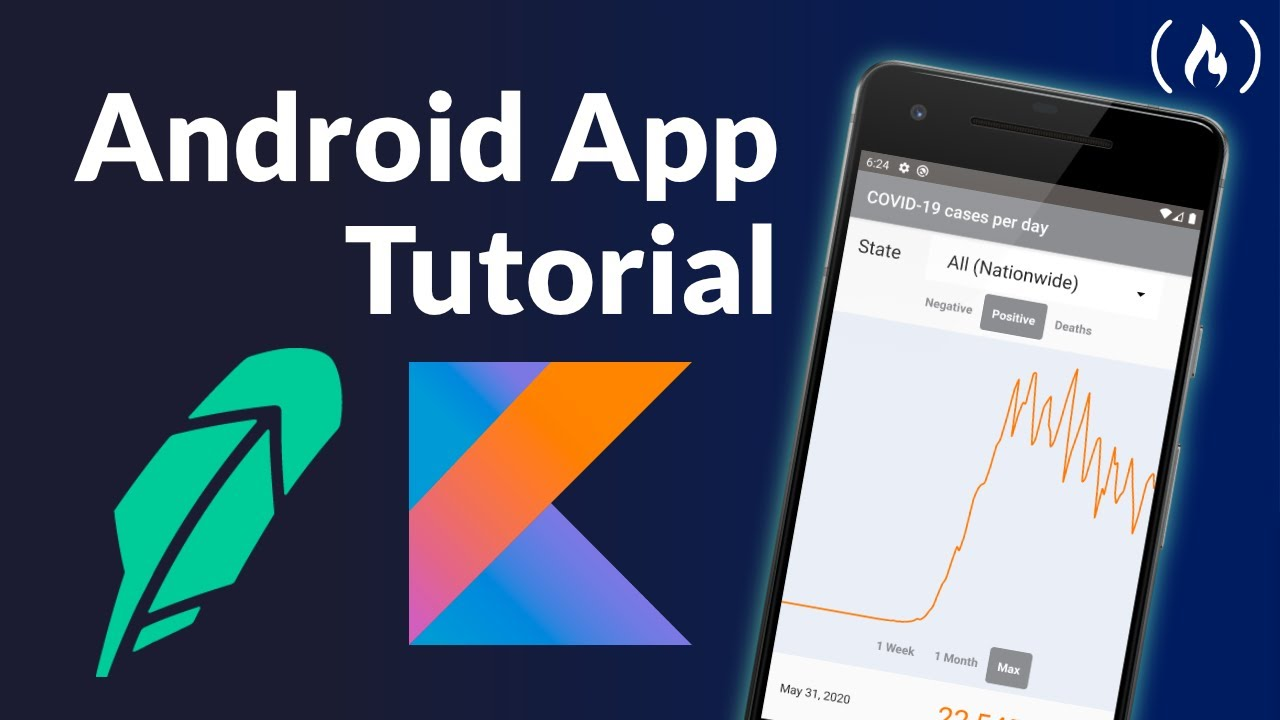 Build a Robinhood-Style Android App to Track COVID-19 Cases - Kotlin Tutorial