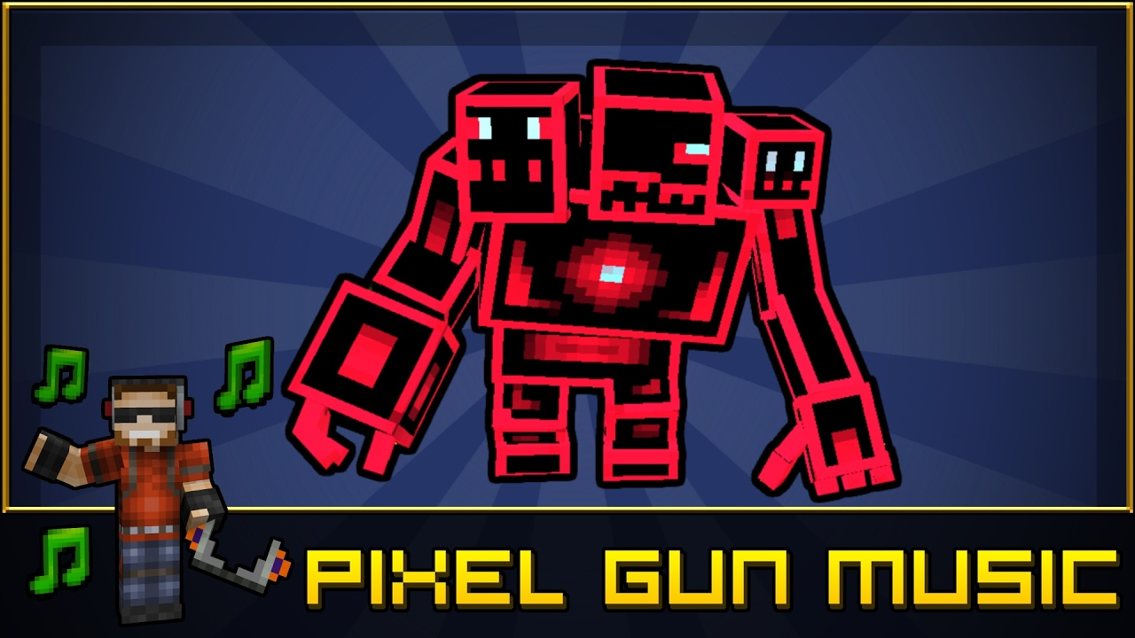 boss theme old version pixel gun 3d soundtrack youtube