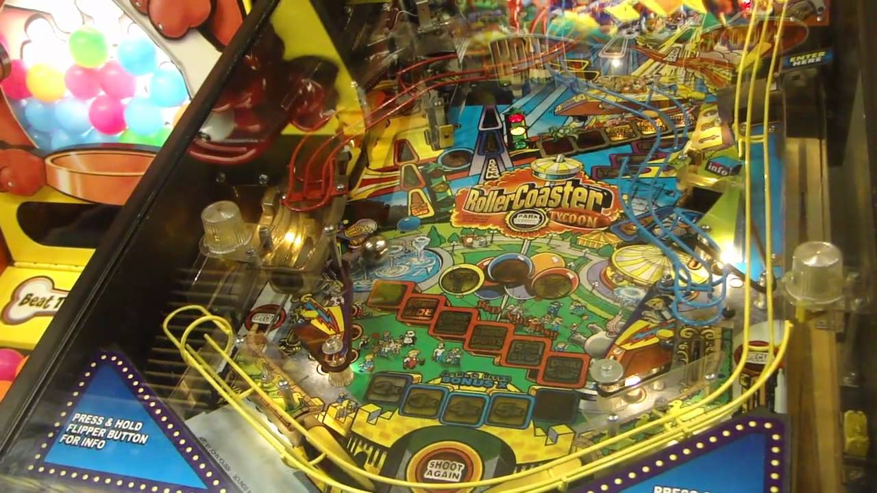 Download Chuck E. Cheese - RollerCoaster Tycoon Pinball
