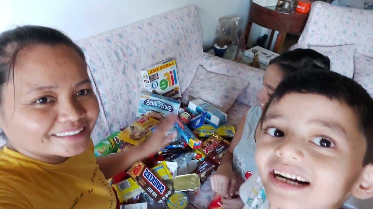 BUHAY SA LEBANON: UNANG  UNBOXING PACKAGE SA AMING CHANNEL MARAMING SALAMAT PO FROM CALIFORNIA USA