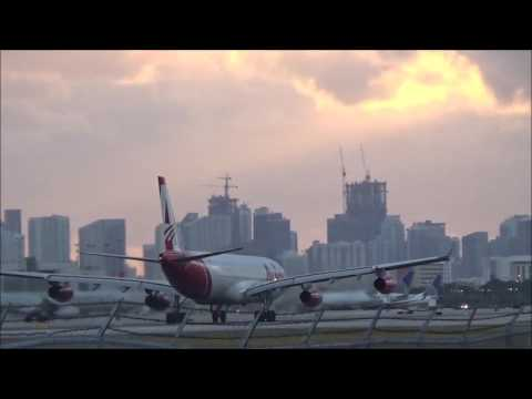 NEW Avior A340-300 Loud takeoff from Miami International