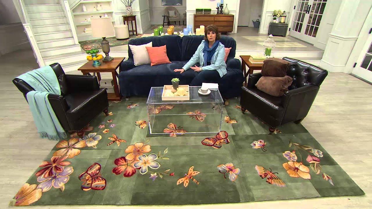 Sure Fit Stretch Plush Sofa Furniture Cover With Jill Bauer