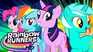 My Little Pony Радужные гонки НОВИНКА Мои Маленькие Пони Обзор Игры Детское Видео