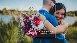 The Wedding of Ashlie & Corey at Worthington on Lovelee Lake