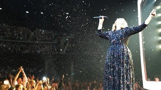 Adele Live in Glasgow, Scotland - 25 March 2016, Highlights