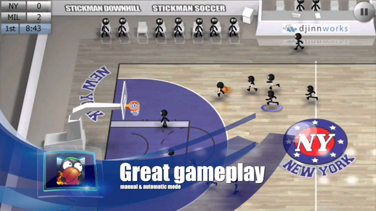 Stickman Basketball (Official Trailer)