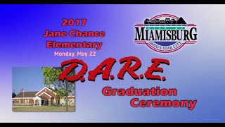 2017 Miamisburg Jane Chance Elementary D.A.R.E. Graduation Ceremony