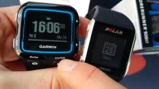 Polar V800 vs Garmin Forerunner 920XT differences