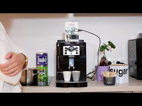 Snips Voice Assistant Demo - Coffee Machine