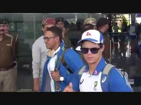 Team Australia arrives in Dharamshala For the final Test Match with India