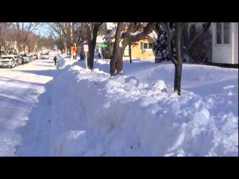 December 12th Snowfall Recovery -- Saint Paul, MN