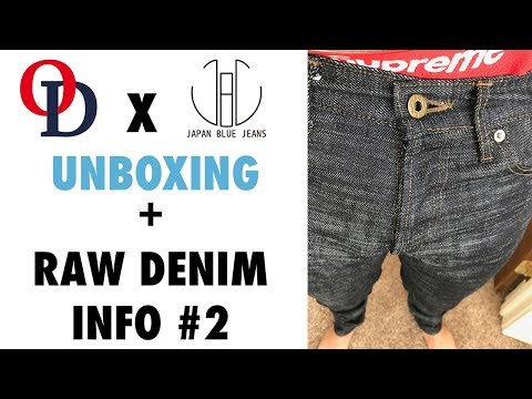 I'm Going Heavyweight Raw Denim! Okayama Denim X Japan Blue Collab