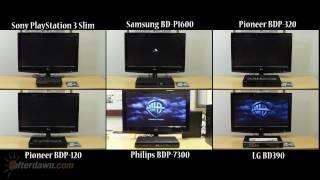 Blu-ray player comparison - Startup speeds