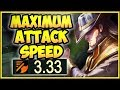 MAX ATTACK TWISTED FATE CHALLENGE IS 100% DUMB! ON-HIT TWISTED FATE TOP GAMEPLAY! League of Legends