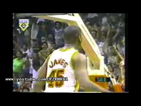 Game Winning Threes by Ginebra Import  Henry James Against Alaska and Shell