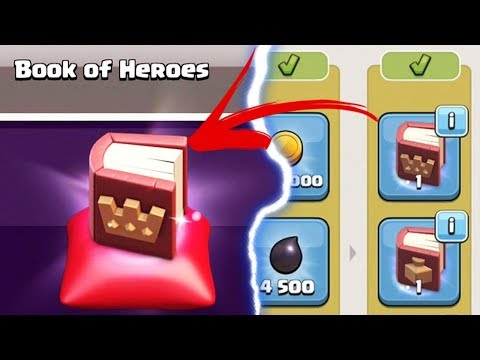 BOOK OF HEROES MAGIC ITEM UNLOCKED | Clash of Clans | Christmas Update