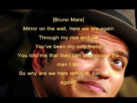 Mirror (Squeaky Clean) - Lil Wayne [ft Bruno Mars] (Lyrics)