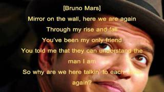 Mirror (Squeaky Clean) - Lil Wayne [ft Bruno Mars] (Lyrics)