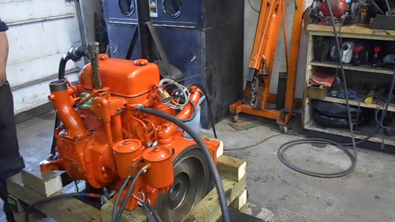 Detroit Diesel 2-71 engine overhaul and start