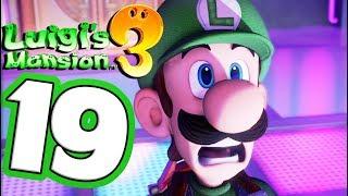 Luigi's Mansion 3 Walkthrough Part 19 Dancing DISCO Ghost! (Nintendo Switch) Co-Op!