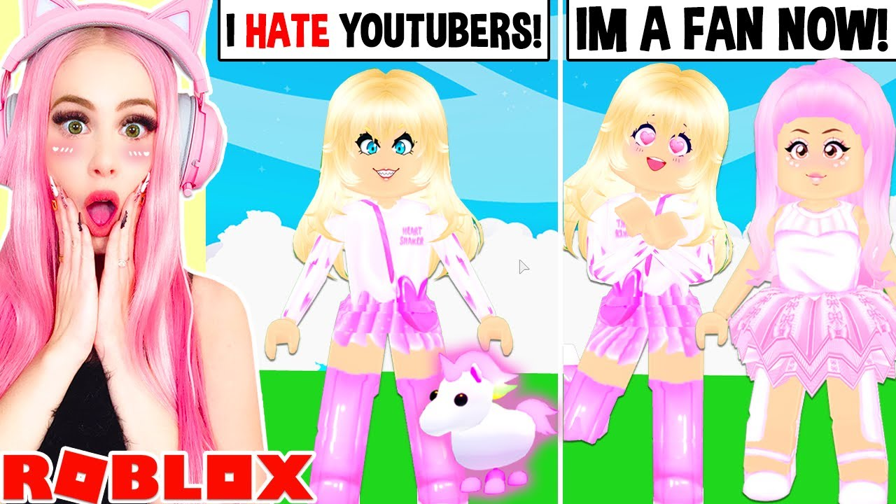 I Turned The Biggest Scammer In Adopt Me Into A Fan Roblox