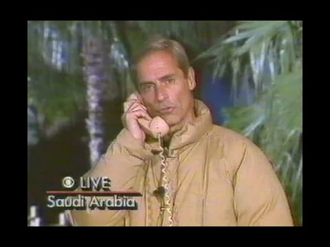 First 2.5 hours of Operation Desert Storm (Gulf War - Part 1): CBS News Special Report (live) . 1991