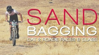 Roadie Sandbags A Mountain Bike Race  (RACEDAY Cycling Vlog)