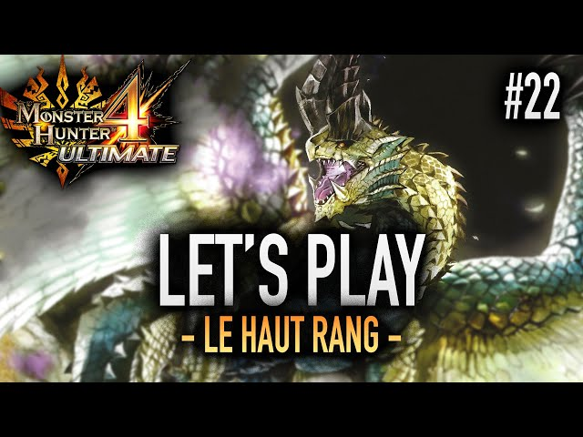 STOPPEZ LA ROUE - #22 Let's Play MH4U HD