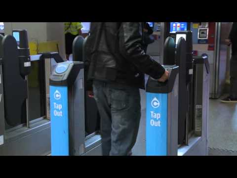 Tapping Your Compass Card On SkyTrain