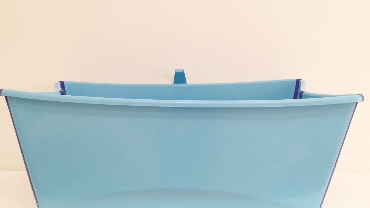 Vasca Da Bagno Stokke : Recensione vaschetta stokke flexi bath youtube