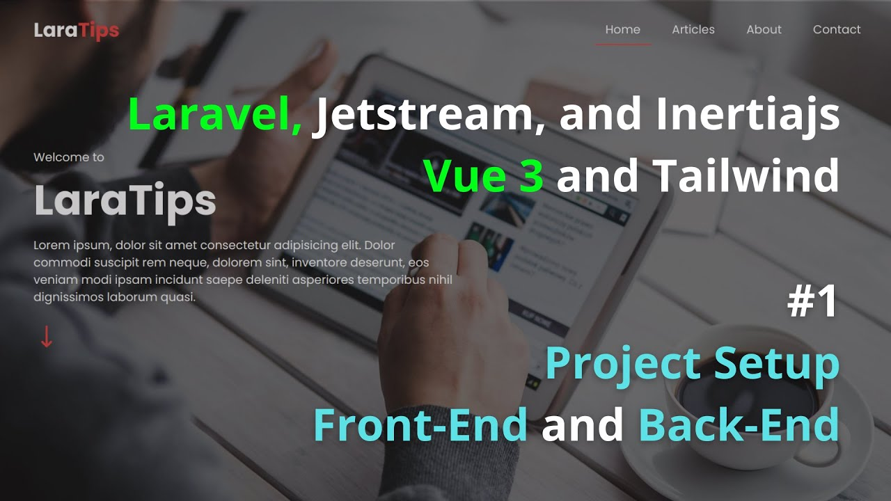 Project Setup Front-End and Back-End Part 1