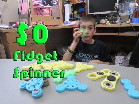 Fully 3D Printed Fidget Spinner