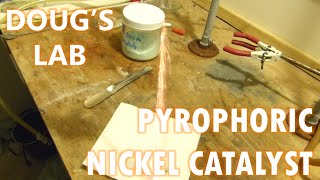 Pyrophoric Nickel Hydrogenation Catalyst / Nickel Oxalate Preparation