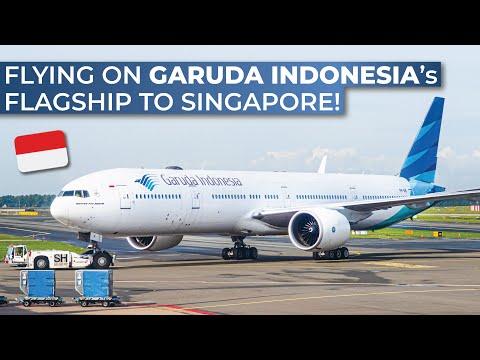 TRIPREPORT | Garuda Indonesia (ECONOMY) | Boeing 777-300ER | Jakarta - Singapore