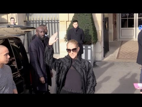 EXCLUSIVE : Celine Dion says goodbye to Paris