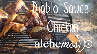 Spicy Chicken Wings Using Diablo Sauce from Taco Bell