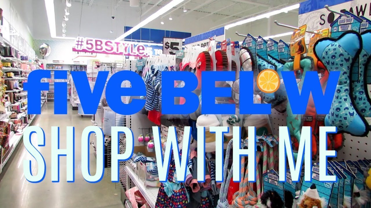 Five Below Shop With Me New 1 To 5 Finds Youtube