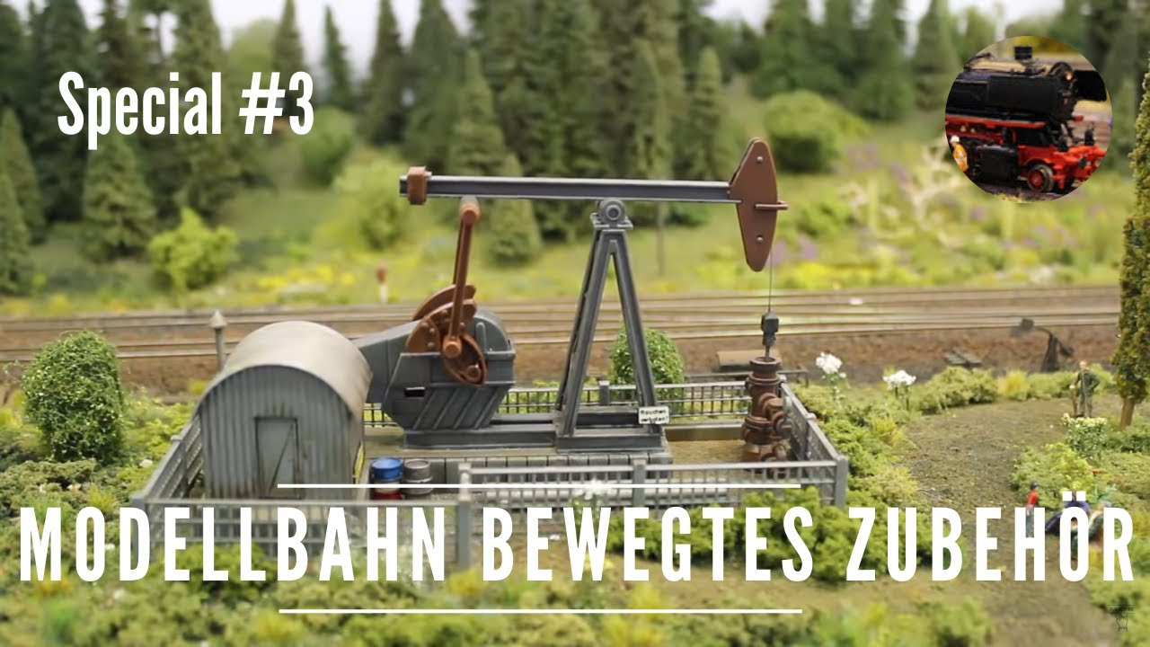Modellbahn Basteleien - Teil 8 von 8 8x bewegtes Zubehör