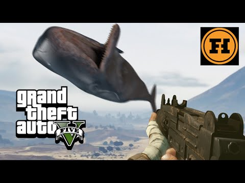 Mod Gameplay - WHALE CANNON in GTA 5!