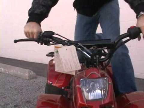 COOLSTER 110CC KIDS ATV UTILITY 4 WHEELER - YouTube