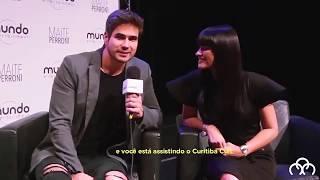 Baixar Maite Perroni e Daniel Arenas para uma entrevista pro