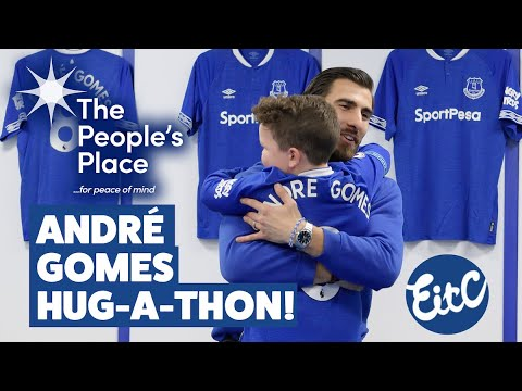 ANDR� GOMES HUG-A-THON! | PORTUGAL STAR SPREADS THE LOVE FOR CHARITY