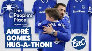 ANDRÉ GOMES HUG-A-THON! | PORTUGAL STAR SPREADS THE LOVE FOR CHARITY