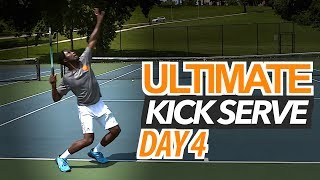 5 Day ULTIMATE Kick Serve Lesson | Day 4: Accuracy