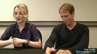 ZBTV: Evanna Lynch and Robbie Jarvis